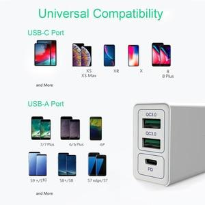 Image 5 - Multi USB PD Ladegerät Schnell Ladung 3,0 Schnelle Handy ladegerät Für iPhone 11 3,0 PD Power Ladegerät Für Samsung Note 10 Redmi Hinweis 8 Pro