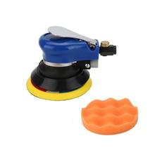 5/6 Inch Non vacuum Matte Surface Circular Pneumatic Sandpaper Random Orbital Air Sander Polished Grinding Machine Hand Tools