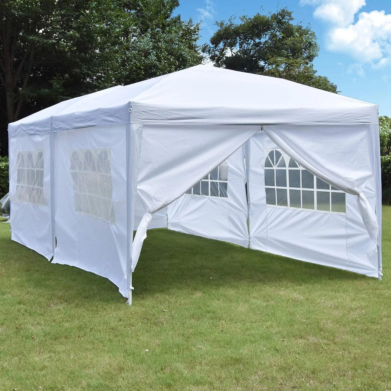 10X20 Ft Up Kolam Kanopi Tenda tugas Mudah Portabel Tenda Pesta Pernikahan  Membawa Tas Disesuaikan Lipat Gazebo Tempat Tinggal|Tempat Kartu & Tempat  Kartu Pemegang| - AliExpress