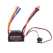 Brushless Motor 1/10,  60A  Waterproof ESC Electric Speed Controller for RC Part Accessory R7RB skyrc leopard 60a esc 9 10 12 13t 4370 3930 3300 3000kv brushless motor program card for 1 10 rc car