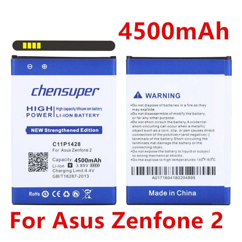 NEW 4500mAh C11P1428 <font><b>Battery</b></font> <font><b>for</b></font> <font><b>Asus</b></font> <font><b>Zenfone</b></font> <font><b>2</b></font> Zenfone2 <font><b>Laser</b></font> <font><b>ZE500KL</b></font> ZE500KG image
