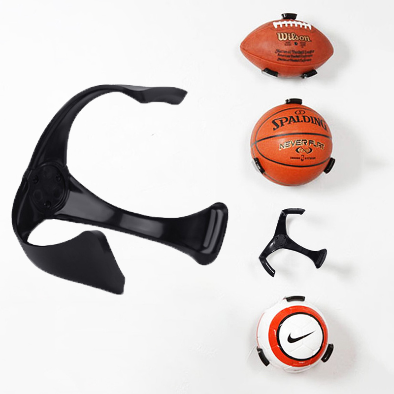 Basketball Soccer Ball Wall Mount Indoor Decor Store Showing Ball Holder Claw Football Rugby Storage Tool