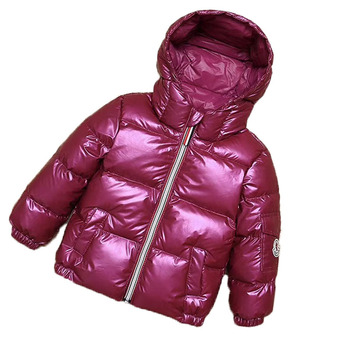 2019 chaqueta de invierno para niños, ropa de bebé, niña, traje de nieve, abrigo de Año Nuevo, chaqueta con capucha para niños, Parka para niños y niñas 7 colores