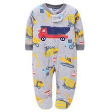 Одежда для малышей; Флисовый комбинезон; Зимняя Пижама; маленьких