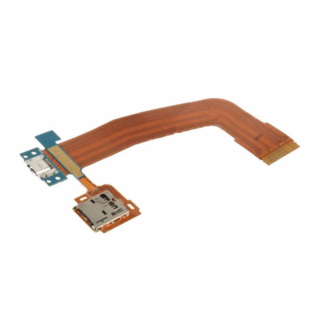 フラットテスト交換インタフェース USB 充電実用的なマイクロアクセサリー電子カードテールプラグケーブルサムスンタブ T800