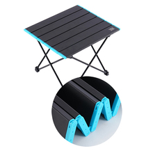 купить Portable Table Foldable Camping Hiking Desk Traveling Outdoor Picnic Ultra-light Travel Fishing Table Dropshipping по цене 1474.57 рублей