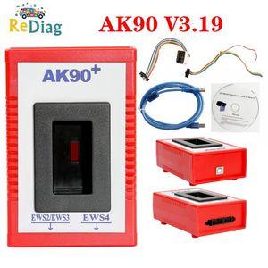 AK90+ Key Programmer For BMW EWS2/3/4 Key Code Reader V3.19 Newest Version AK90 Key Maker For BMW Programming Tool(China)