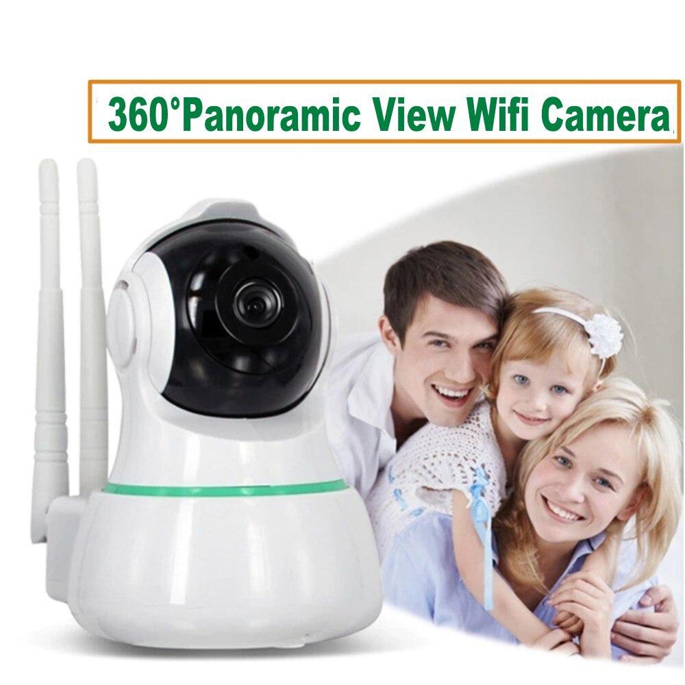 EC31 Wifi IP caméra 1080P 2 voies Audio bébé moniteur sans fil 360 degrés vue panoramique sécurité à domicile Surveillance IR caméscope - 6
