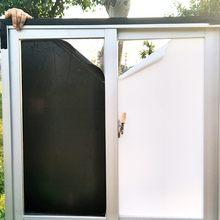 Filme de janela de cor branca não transparente luz de bloqueio de filme de vidro para privacidade à prova de uv isolamento de segurança em casa drop-shipping