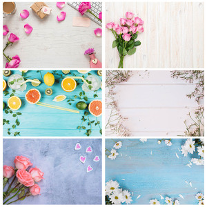 Image 1 - Pink Flower Petals Gift Keyboard Photo Backgrounds Vinyl Cloth Backdrop for Children Lovers Valentines Day Wedding Photophone