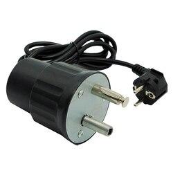 220V Grill silnik Grill silnik obrotowy 4W Grill elektryczny silnik piec do grilla Diy akcesoria ue wtyczka|Zewnętrzne narzędzia|Sport i rozrywka -