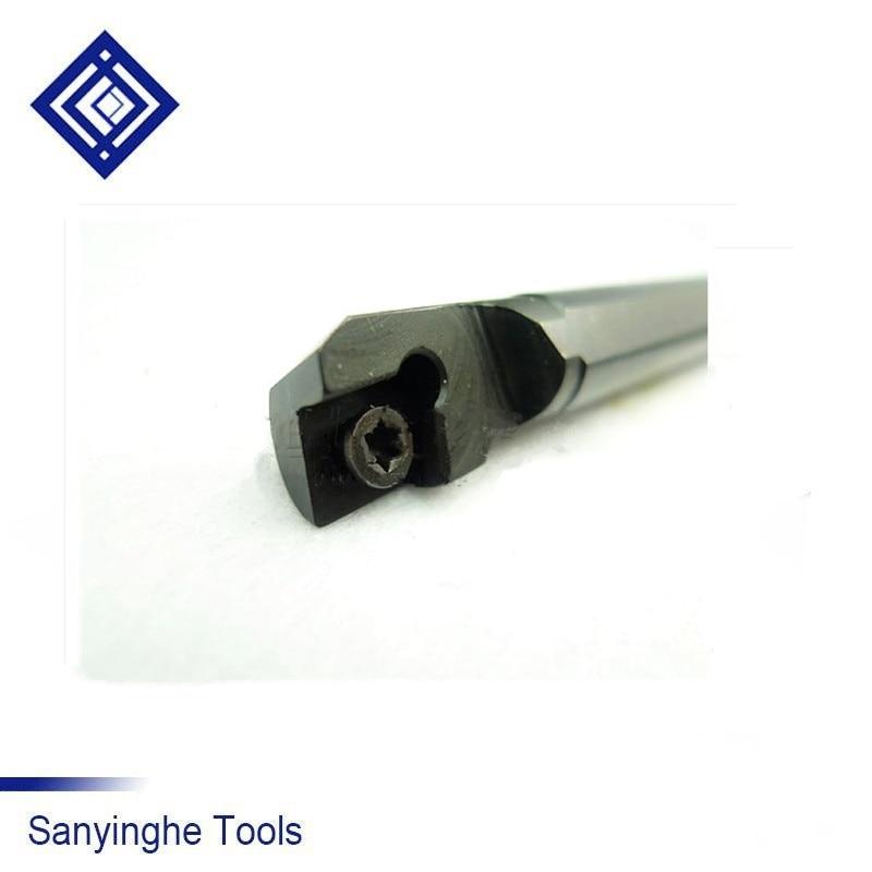Belső esztergatartó, CNC indexálható fúrórúd, 95 fokos eszterga fúrószár S12M-SCLCR06