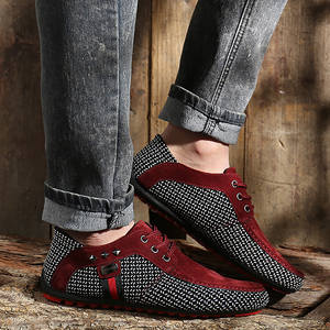 Men's Shoes Fashion Brand Footwear Nonslip Summer Autumn Rivet Sturdy-Sole Mans