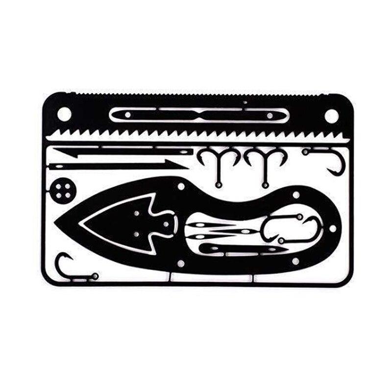 Camping Fishing Gear Credit Card Survival Tools Hunting Emergency Survival EDC Kit