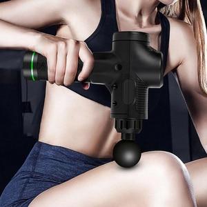 Image 3 - จอแสดงผลLCDนวดปืนลึกกล้ามเนื้อนวดกล้ามเนื้อคอนวดการออกกำลังกายผ่อนคลายSlimming Shapingบรรเทาอาการปวด