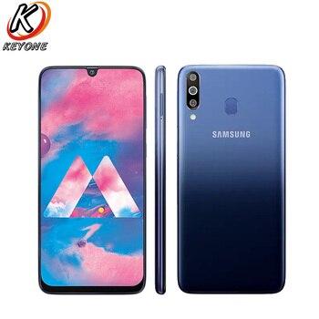 Перейти на Алиэкспресс и купить Абсолютно Новый Samsung Galaxy M30 M305F-DS мобильный телефон 6,4 дюйма 4 Гб ОЗУ 64 Гб ПЗУ Восьмиядерный задняя камера 13 МП + 5 Мп + 5 Мп Android сотовый телефон