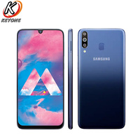 Brand New Samsung Galaxy M30 M305F DS Mobile Phone 6.4 4GB RAM 64GB ROM Octa Core Rear Camera 13MP+5MP+5MP Android Cell Phone