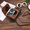 Volle Körper Präzise Fit PU Leder Digitale Kamera tasche box Abdeckung für Fujifilm Fuji x100v X 100V Kameras Tasche Haut|Kamera/Video Taschen|Verbraucherelektronik -