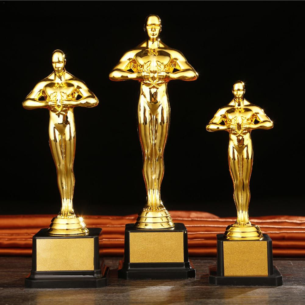 19/22/24cm Gold Award Trophy Gold Plated Small Gold Statue For Trophy Awards And Party Celebrations Award Ceremony