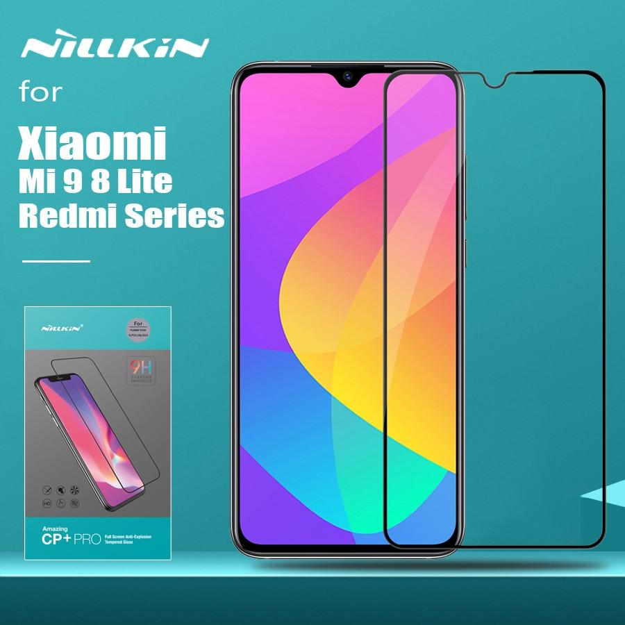 for Xiaomi Mi 9 8 Lite 9T Glass Nillkin CP+ Pro Full Cove Tempered Glass Screen Protector for Xiaomi Redmi Note 8T 8 7 Pro Glass Phone Screen Protectors     - title=