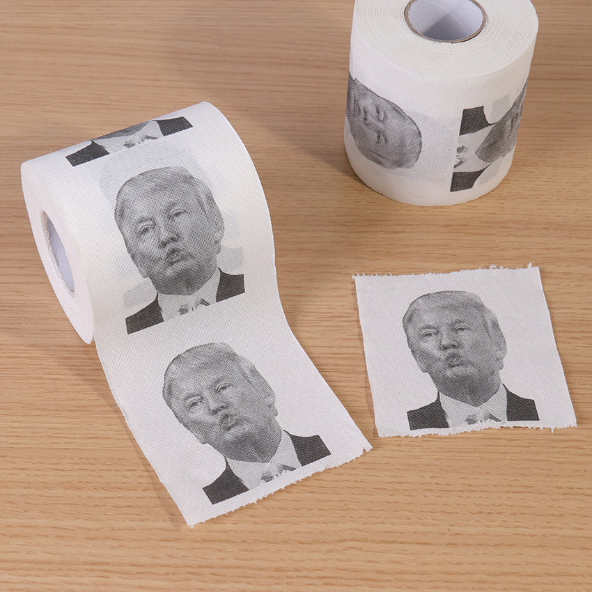 1 Roll 2 Layers 240 Sections Toilet Paper Toot Mouth Roll Toilet Paper Bathroom Prank Funny Paper Home Supplies