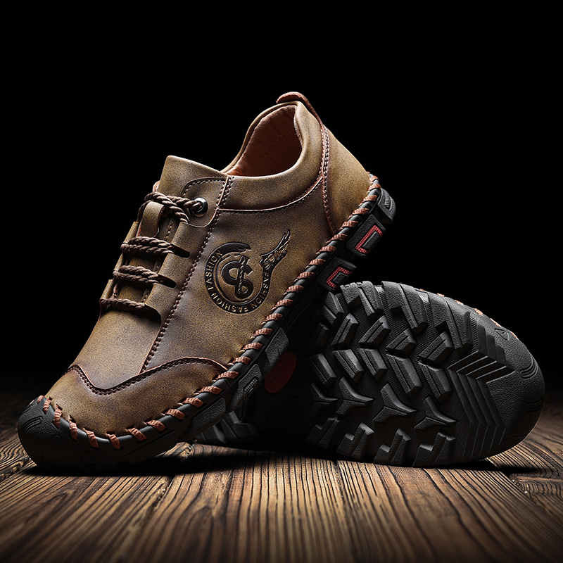 CINESSD Klassische Hohe Qualität Wandern Schuhe Langlebig Wasserdichte Trekking Schuhe Outdoor Klettern Turnschuhe Männer Leder Camping Schuhe