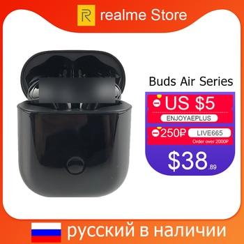 Перейти на Алиэкспресс и купить Глобальная версия realme Buds Air Neo TWS наушники беспроводные Bluetooth наушники R1 чип для realme 6 Pro 6i X2 Pro X50 Pro