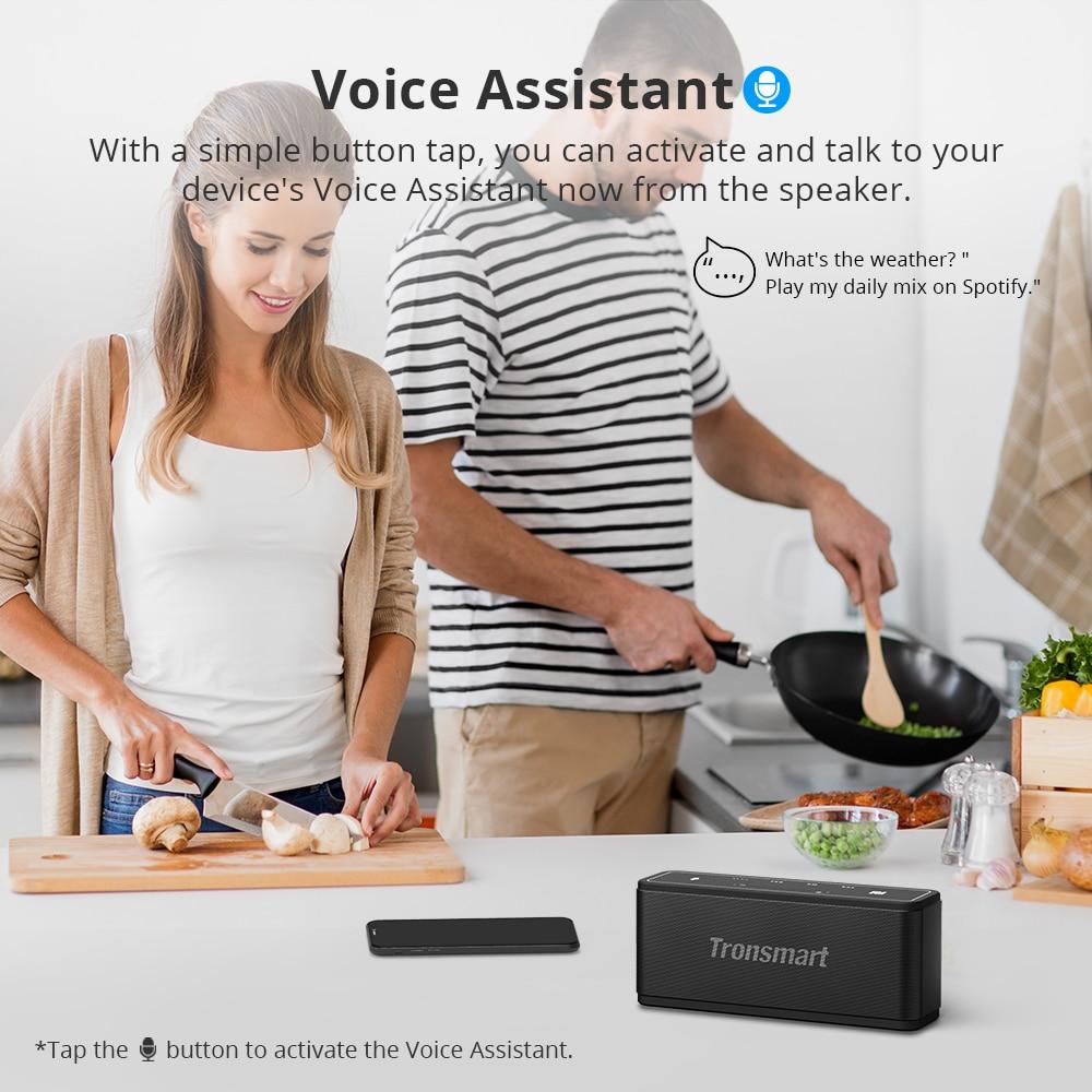 Tronsmart Mega TWS Bluetooth 5.0 Speaker 40W Portable Speaker Colums Touch Control Wireless Soundbar Voice Assistant NFC MicroSD (24)