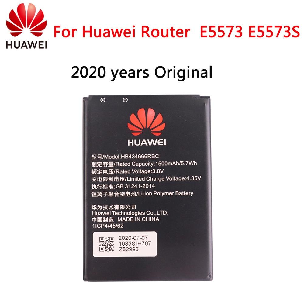 2020 лет аккумулятор телефона HB434666RBC для Huawei маршрутизатор E5573 E5573S E5573s-32 E5573s-320 E5573s-606 E5573s-806 1500 мАч батарея