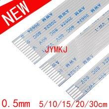 AWM 20624 80C 60V VW-1 FFC FPC плоский гибкий кабель с ПВХ изоляцией 0,5 мм 4 5 на возраст 6, 8, 10, 12 лет 14, 16, 18, 20, 22, 24, 26 28 30 32 34, 36, 38, 40, 45, 50 54 60 Pin-код