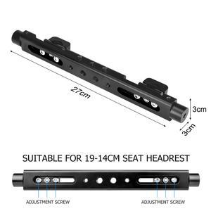 Image 3 - 3in1 Magic Arm Heavy Duty Car Headrest DSLR Action Camer Smartphone Holder Mount Expansion Kit Vlog Rig for Canon Nikon GoPro