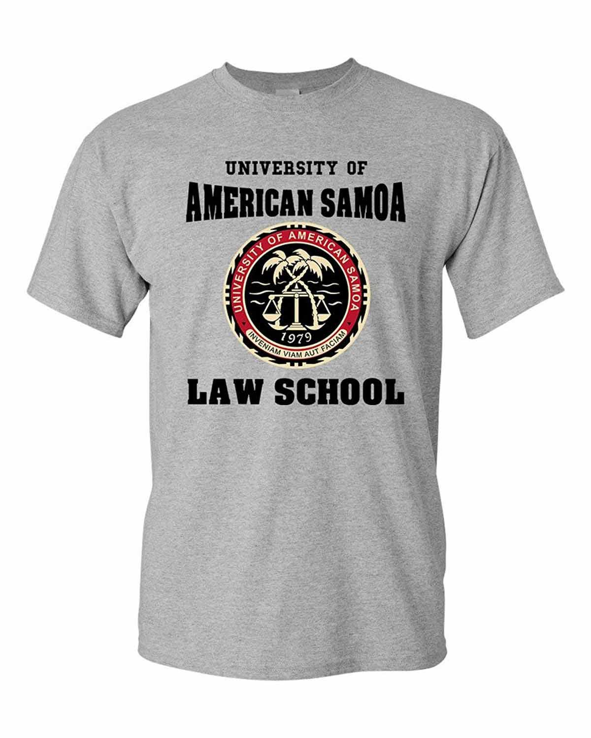 Newest 2019 Fashion Stranger Things T Shirt Men University Of American Samoa Law School Dt Adult T Shirt Tee image