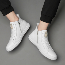 New Luxury Brand Men Fashion High Top Sneakers Spring Autumn
