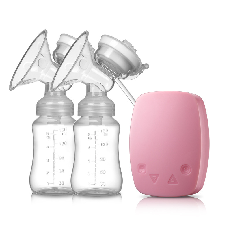 Double-sided Electric Breast Pump, Milk Pump, Large Suction Power, Automatic Massage Lactator, Collect Milk