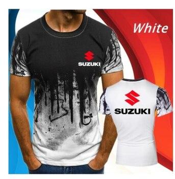 2020 nuevo Material de algodón camiseta con diseño de motocicleta cuesta abajo deporte al aire libre camisa para GSX fábrica de T camisa aliento frío siento