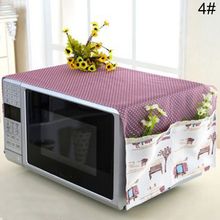 Home-Supply Dust-Cover Microwave Polyester-Fiber with Storage-Bag No-Pilling Easy-Clean
