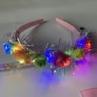 LED Flowers Wreath G...