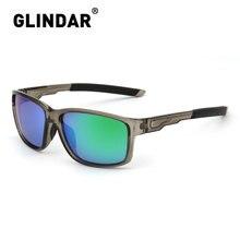 Brand Designer Polarized Sunglasses Men Fashion Square Male