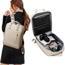 Chuwanglin Anti theft torba podróżna plecak duża pojemność biznesowy USB Charge mężczyźni plecak na laptopa studentka tornister L901