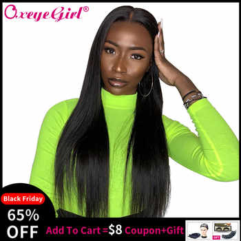 Oxeye girl 13x6 Lace Front Wig Straight Lace Front Human Hair Wigs For Black Women Brazilian Lace Wig With Baby Hair Remy 10-26 - DISCOUNT ITEM  34% OFF Hair Extensions & Wigs