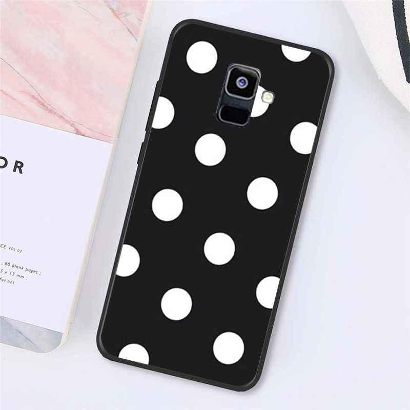 Babaite Polka Dots Case Telepon untuk Samsung Galaxy A7 A50 A70 A40 A20 A30 A8 A6 A8 Plus A9 A51 a71
