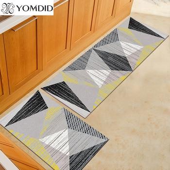 Yomyd-alfombra de cocina larga 3d, felpudo para el hogar, decoración para sala...