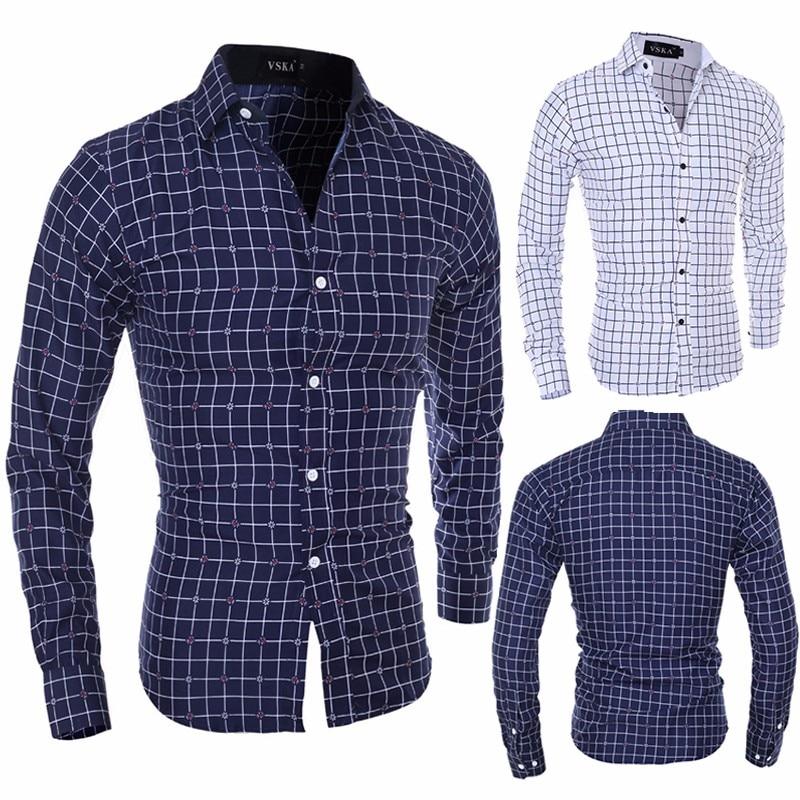 Zogaa 2019 Men Shirt Men's Shirt New Fashion Men Social Business Tuxedo Long Sleeve Smart Casual Dress Shirts for Drop Shipping 2