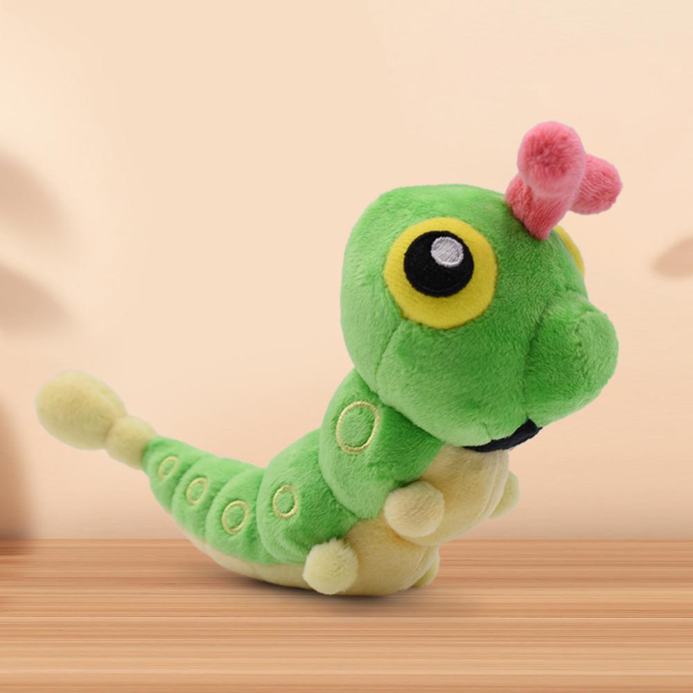 16CM Caterpie Plush Doll Soft Stuffed Doll For Christmas Gift