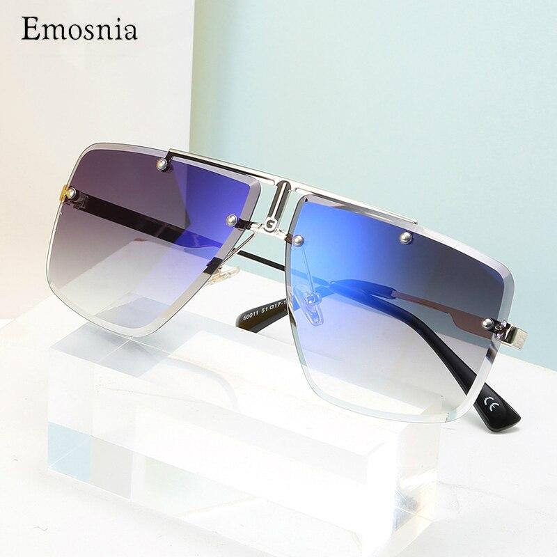 2020 nueva marca De gafas De Sol De moda gafas De Sol sin montura para mujer gafas De Sol azules Len Metal diseño De lujo gafas De Sol femeninas para hombres 2020 Mochila escolar para niños, Mochila escolar de primaria, Mochila ortopédica para niñas, Mochila Infantil para niños