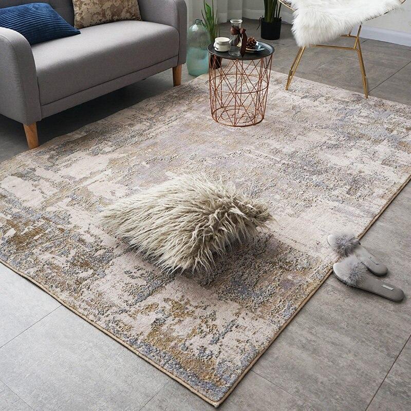 Abstrait tapis salon maison moelleux chambre tapis canapé Table basse tapis de sol étude chambre tapis bureau décoratif tapis