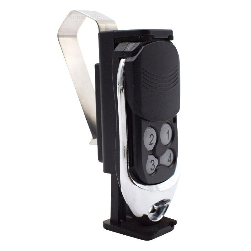 Car Sun Visor Clip Holder Mount Stand For 47-70mm Geage Door Gate Remote Controls