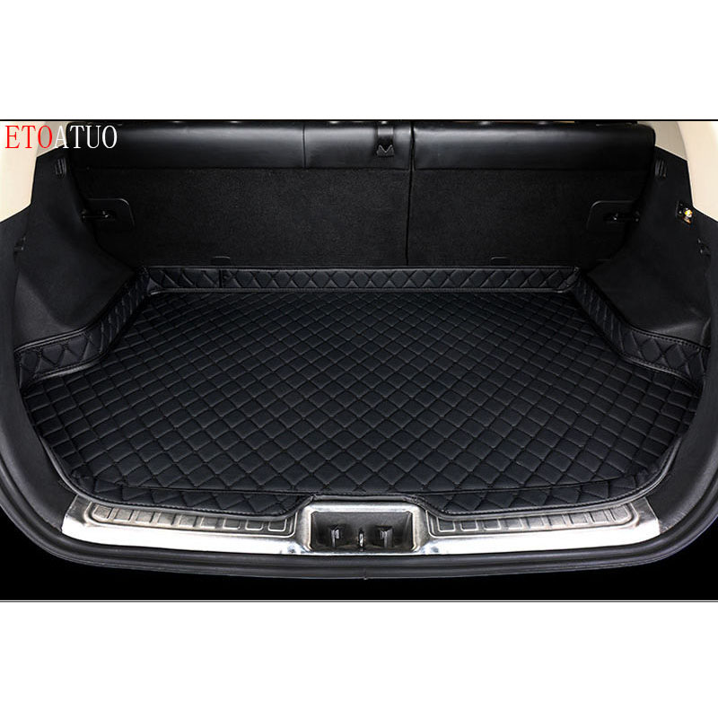 High Side Waterproof Car Trunk Mat AUTO Tail Boot Tray Liner Cargo Rear Pad Parts Accessories For <font><b>Peugeot</b></font> <font><b>4008</b></font> <font><b>2016</b></font> 2017-2019 image