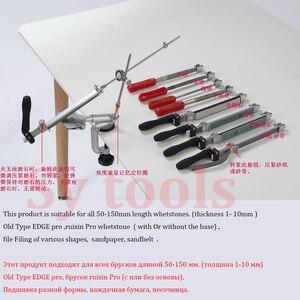 Image 4 - Ruixin Pro afilador de cuchillos con ángulo constante de giro de 360 grados, máquina amoladora, piedra de afilar de diamante, novedad