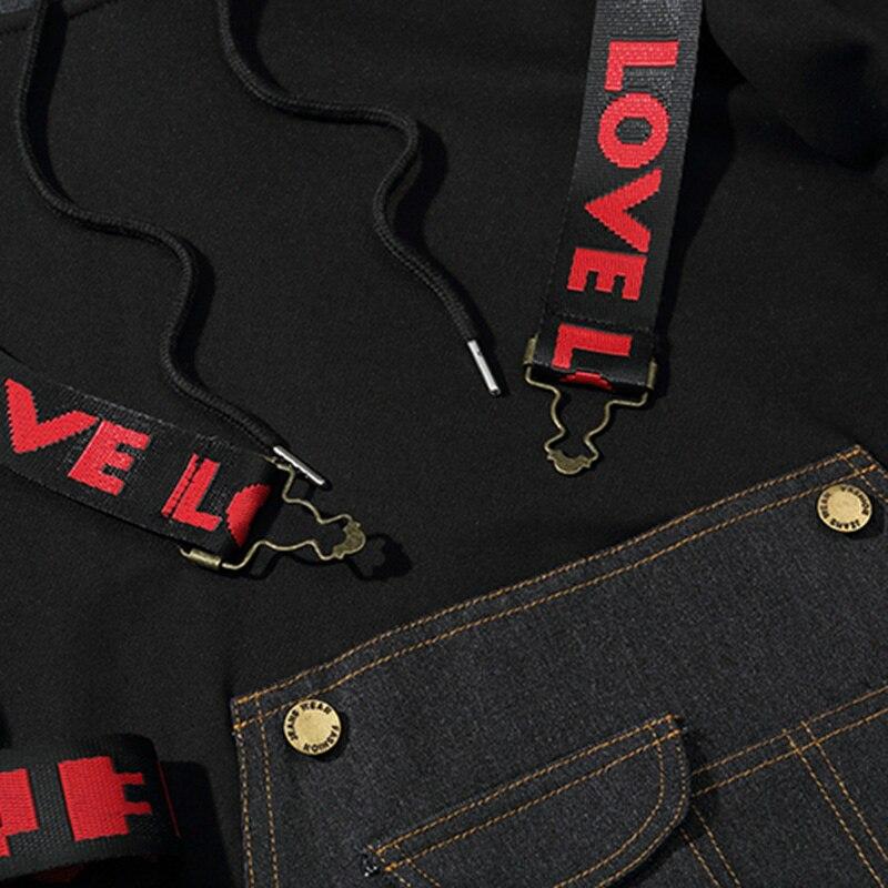 Заказной с собственным логотипом пуловер толстовки для мужчин взрослых печатных толстый свитер красочные черный хлопок свитер - 4